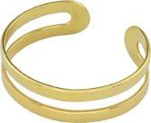 ARLIZI 1378 Knuckle Ring - Dames - 925 Sterling Zilver Verguld