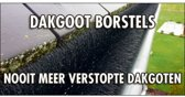 GOOTBORSTEL (dakgoot egel) - 12 meter lang - diameter 15 cm