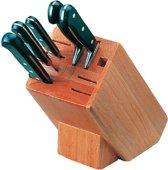 Vogue houten messenblok met 9 sleuven