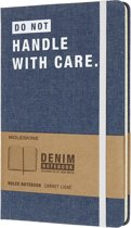 Moleskine notitieboek denim - Limited Edition - Large - Gelinieerd