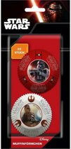 Star Wars The Force Awakens cupcake vormpjes 30 st.