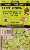 Fritsch Wanderkarte Arber Region 1 : 35 000