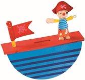Spaarpot BuToy: piraat 16x16x4 cm (21030P)