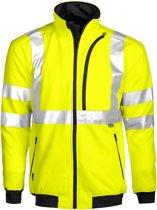 Projob 6103 Sweatshirt Geel/Zwart maat XS