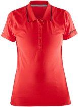 Craft In-The-Zone Piqué Women bright red l
