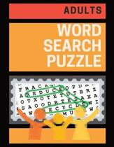Adults Word Search Puzzle