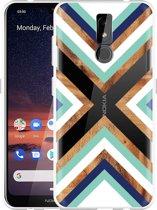 Nokia 3.2 Hoesje Wood Art
