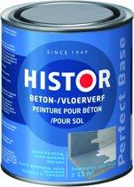 Histor Perfect Base Beton- en Vloerverf 0,75 liter - Donkergrijs