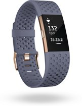 Fitbit Charge 2 - Activity tracker - Blauw/Grijs - Small