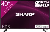 Sharp 40AJ2E - 40inch 4K Ultra HD Smart-TV