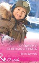 A Cowboy's Christmas Reunion (Mills & Boon Cherish) (The Boones of Texas, Book 1)