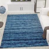 Vloerkleed Viva Blauw 6824 120x170 cm 2000 gr per m²