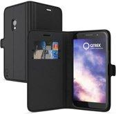 Qtrek Samsung Galaxy S8+ Gel Wallet Case Black