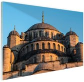 Moskee Midden-Oosten Glas 90x60 cm - Foto print op Glas (Plexiglas wanddecoratie)