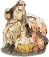Beeldjes - Maria - Jozef - Jezus polystone