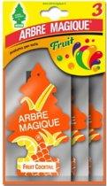Arbre Magique luchtverfrisser Fruit Cocktail Tris