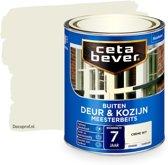 Cetabever Dekkend Meesterbeits Deur & Kozijn 714 Crème Wit 750Ml