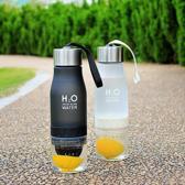 H2O Drink More Water fles - Luxe waterfles met fru