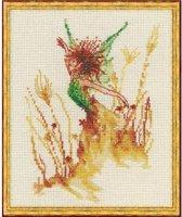 Borduurpatroon. Nimuë. The Fairy of the Field 031. De fee van het veld