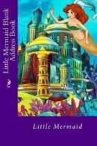 Little Mermaid Blank Address Book