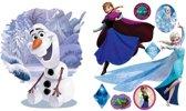 Disney Frozen Elsa & Olaf - Muursticker - 100 x 70 cm - Multi