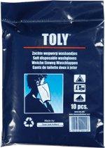Toly - Washandjes - Wegwerp - 10 stuks
