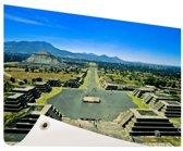 Teotihuacan  Mexico Tuinposter 60x40 cm - Foto op Tuinposter / Schilderijen voor buiten (tuin decoratie)