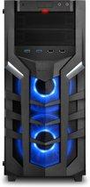 Sharkoon DG7000-G RGB Midi-Toren Zwart