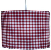BINK Bedding BB Ruit - Hanglamp - Rood