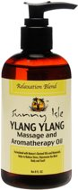 Sunny Isle Jamaican Black Castor Oil Ylang Ylang Massage and Aromatherapy Oil 236ml