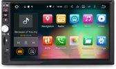 """Cartronix ® stijlvolle universele dubbele DIN-autoradio met een 6,2 """"HD-touchscreen scherm met Navigatie, Bluetooth en Handsfree bellen & DAB+."""