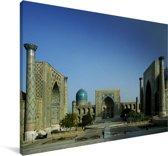 Foto van het Registanplein Canvas 140x90 cm - Foto print op Canvas schilderij (Wanddecoratie woonkamer / slaapkamer)