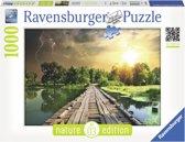 Ravensburger puzzel Mystiek licht - Legpuzzel - 1000 stukjes