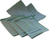 Bamboe Dubbele set + 1 GRATIS doek. wonderdoeken - microvezeldoeken - raamdoeken - droogdoeken