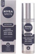 MEN ACTIVE AGE fluido hidratante anti-edad 6 efectos 50 ml