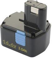 Battery for Hitachi 14,4V 3000 mAh Ni-Mh EB1412S EB1414 EB1414L EB1414S