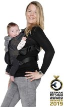 ByKay - Babydrager - Click carrier classic - Black denim - size baby