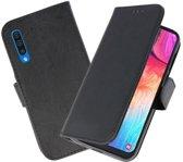 Bookstyle Wallet Cases Hoesje voor Samsung Galaxy A50 Zwart