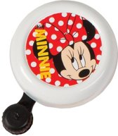 Widek Disney Minnie Mouse - Fietsbel - Wit