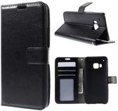 Cyclone wallet hoesje HTC One M9 zwart