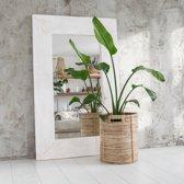 Spiegel XL Whitewash | Houten Lijst | Passpiegel | Spiegel Handgemaakt