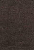 Hoogpolig Vloerkleed Shaggy Plus 964 Brown 80 x 150 cm