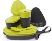 Light My Fire MealKit 2.0 Campingservies en keukenuitrusting grijs/groen