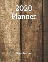 2020 Planner: Weekly Planner At A Glance 2020 with To-Do List and Notes, Perfect for Men and Women