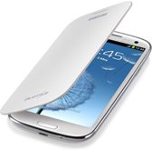 Samsung flip cover - wit - voor Samsung I9300 Galaxy SIII