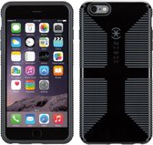 Speck CandyShell Grip - Hoesje voor iPhone 6/6S Plus - Black / Slate Grey