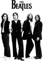 The Beatles - White Album Group Shot - Wall Poster