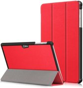 Microsoft Surface Go hoesje - Smart Tri-Fold Case - rood