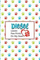 Diesel Leaves Paw Prints on My Heart