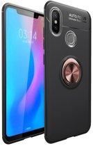 Teleplus Xiaomi Mi 8 Ravel Ring Silicone Case Rose Gold hoesje